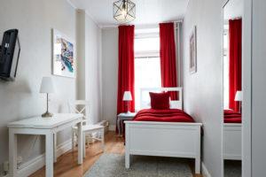 Enkelrum delat badrum 12 Hotel Hornsgatan
