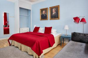Trebaddsrum delat badrum 11.1 Hotel Hornsgatan