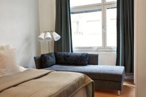 Trebaddsrum delat badrum 13.1 Hotel Hornsgatan